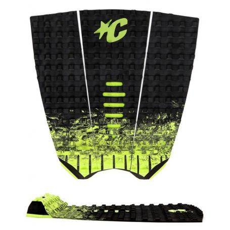 Creatures Mick Fanning Black Fade Lime